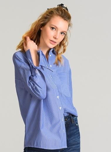 Sırtı Halka Detaylı Gömlek-Agenda